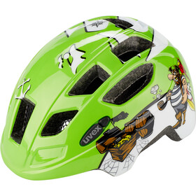 UVEX Finale Casco Niños, green pirate